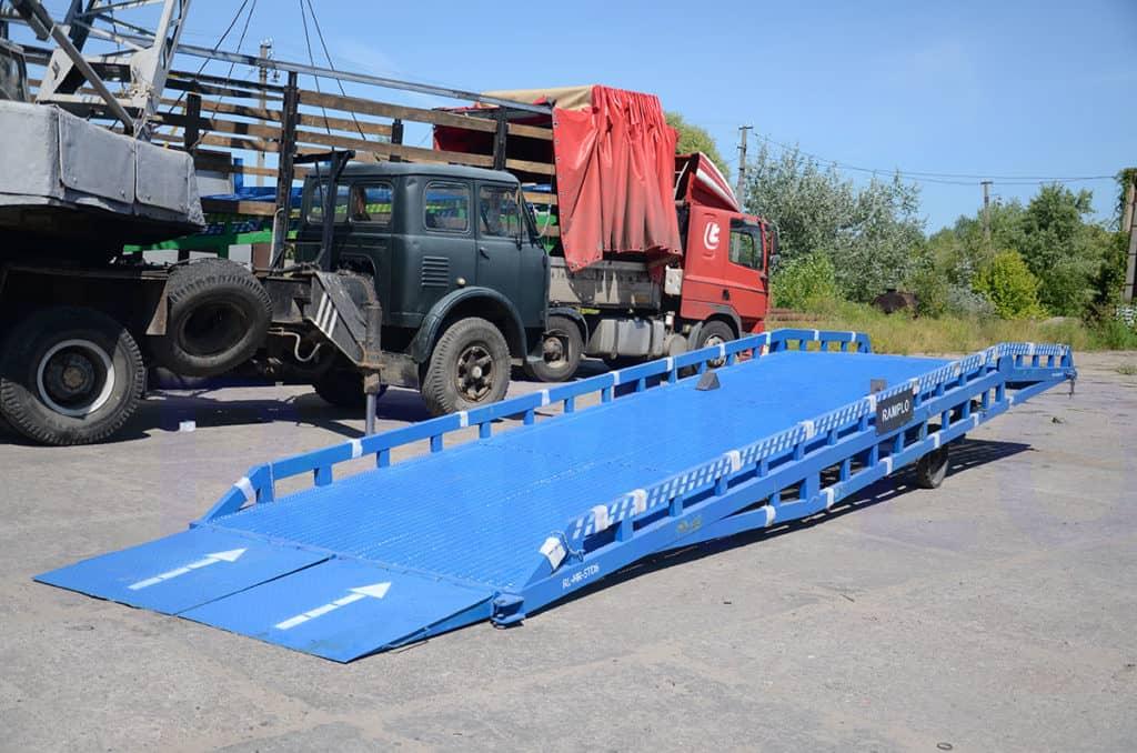 6t RAMPLO Hidrauliskās mobilās rampas