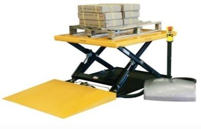 Stacionārais hidrauliskais pacelšanas galds galds ar platformu 2000kg